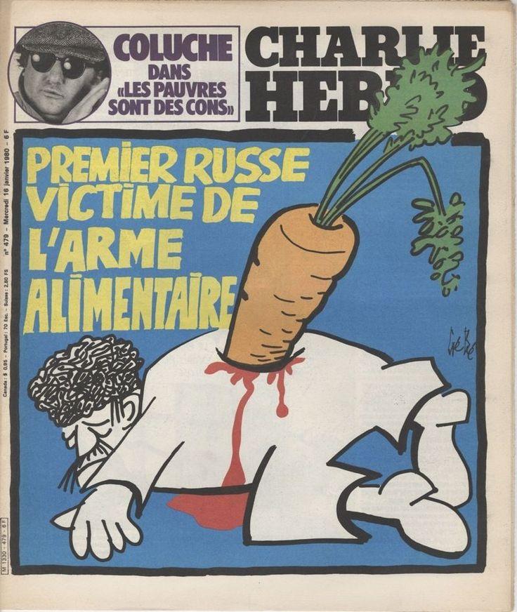 Charlie Hebdo - # 479 - 16 Janvier 1980 - Couverture : Gébé