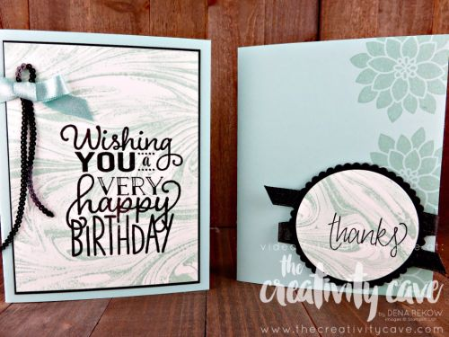 Check out the video tutorial on my blog hilighting the new Marbled Background set as well as other projects from Stampin Up's New Catalog at www.thecreativitycave.com #stampinup #thecreativitycave #marbledbackgroundstamp