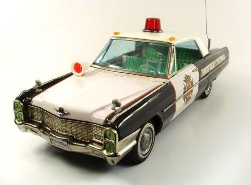 1965-Cadillac-Highway-Patrol-17-034-Japanese-Tin-Car-by-ATC-NR