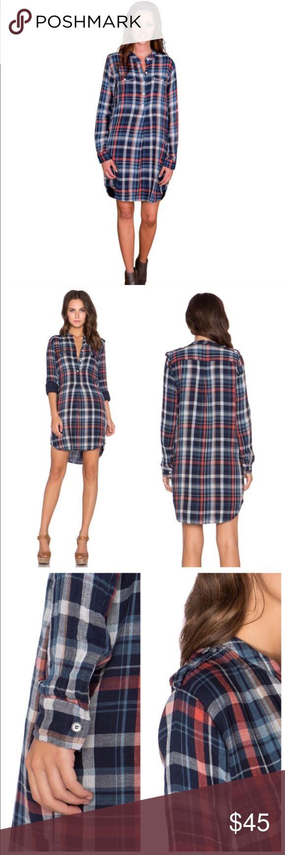 Flannel dress velvet by graham spencer Beautiful flannel dress soft material pockets great length Velvet Dresses Long Sleeve