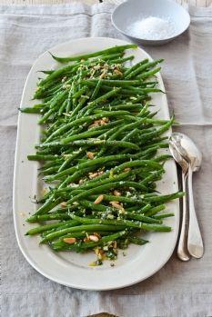 LOVE green beans!!  Barefoot Contessa - Green Beans Gremolata