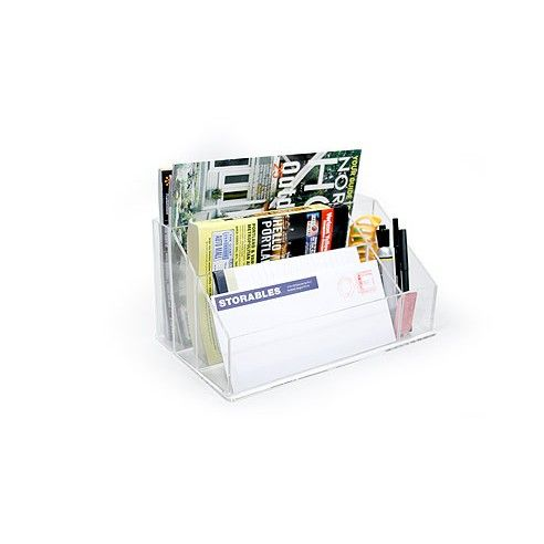 99 best ideas about organization on pinterest acrylics - Acrylic desk organizer set ...