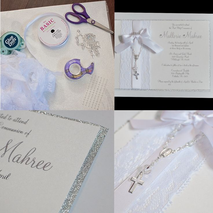 95 best first communion images on pinterest first holy communion diy communion or baptism invitations solutioingenieria Choice Image