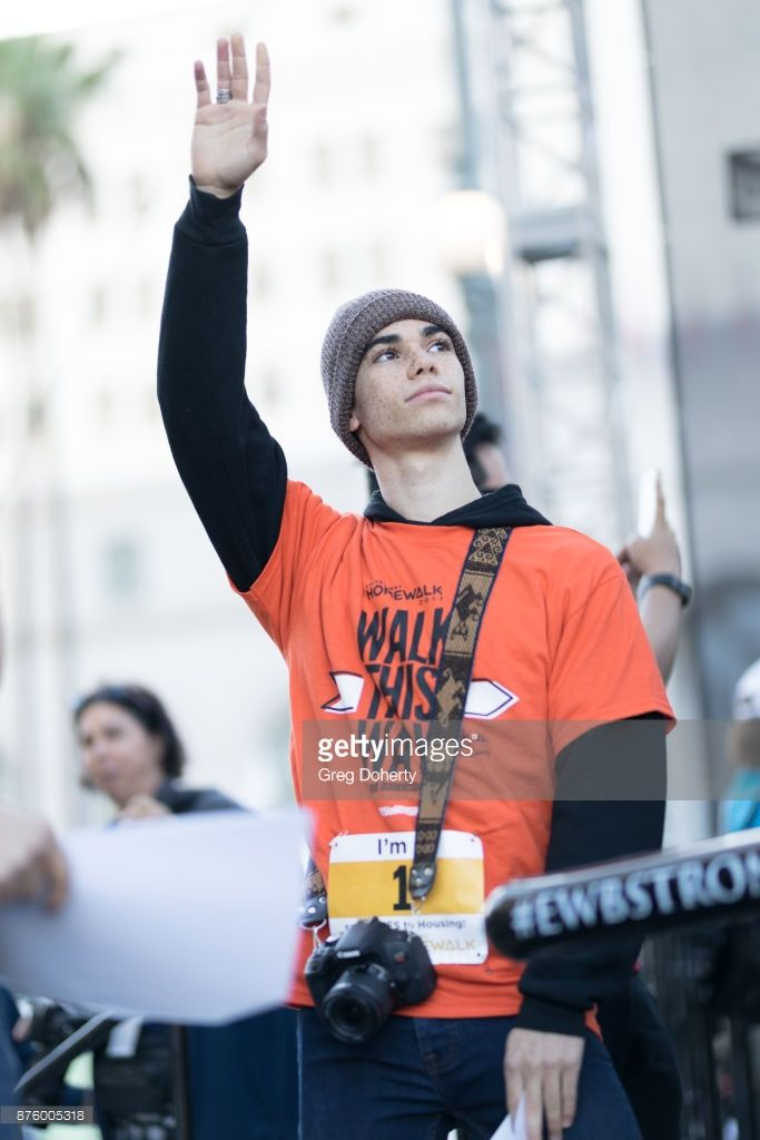 Actor Cameron Boyce, Disney Channel attends the United Way Celebrates 11th Annual HomeWalk To End Homelessness IN L.A. County at Los Angeles Grand Park on November 18, 2017 in Los Angeles, California. (Photo by Greg Doherty/Getty Images)
