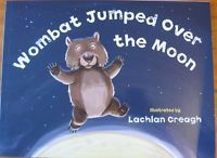 Wombat Jumped over the Moon paperback book  Size approx. 28cm wide x 21cm high x