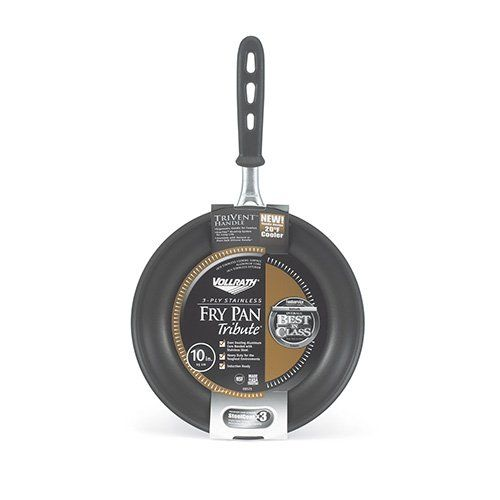 Vollrath 69110 Tribute 3Ply 10 Fry Pan * Click on the image for additional details.  This link participates in Amazon Service LLC Associates Program, a program designed to let participant earn advertising fees by advertising and linking to Amazon.com.