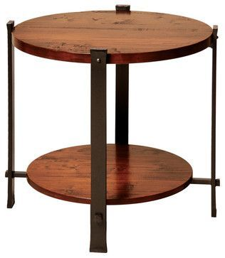 Charleston Forge Timber End Table Contemporary Bar Tables