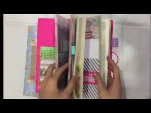 Tutorial: How To Make A Top Loading Plastic/Envelope Folder & Attach It With Your Midori Notebook - YouTube