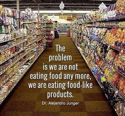 drjayweber:  Choose Real Food (mostly plants) for Real Health!