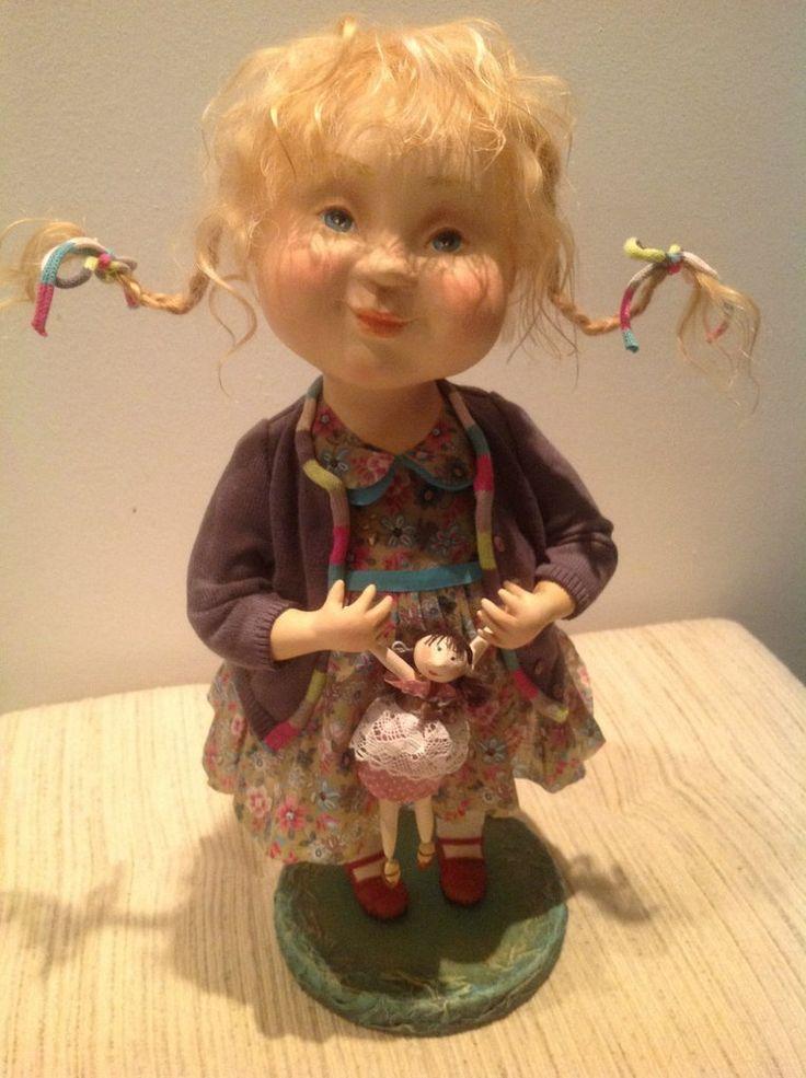 """Забавные куклы, созданные творческим дуэтом """"АняМаня"""""""