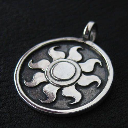 Silver Celestia's Sun pendant
