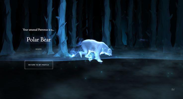 Polar Bear Pottermore Patronus