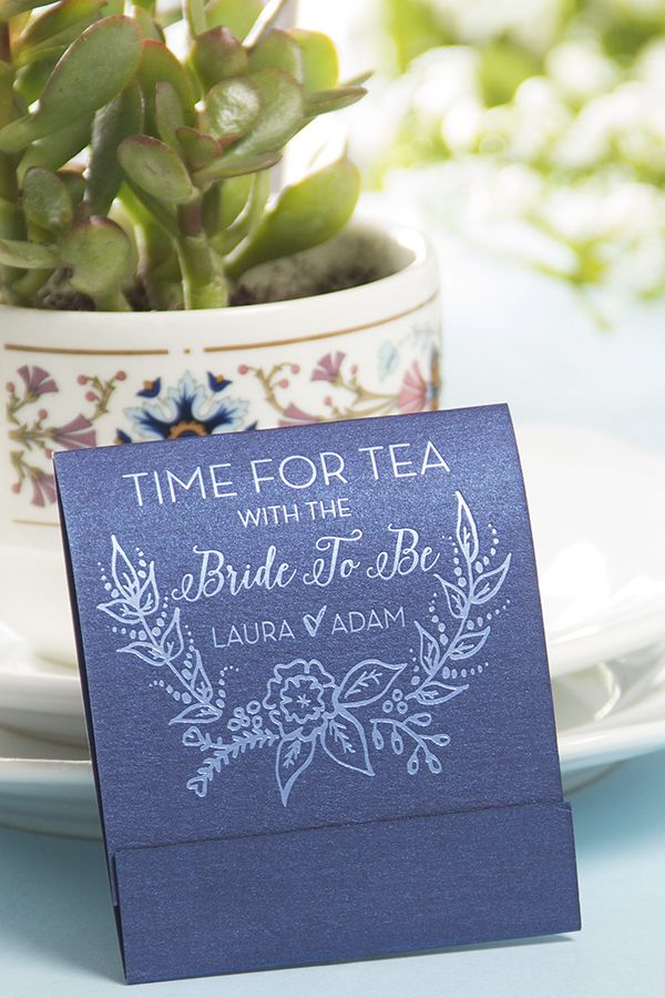 chai white tea themed bridal shower