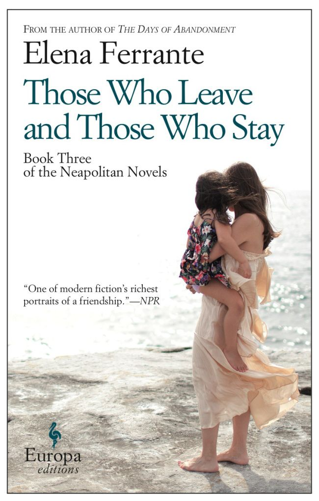 The third book - Ferrante keeps upping the pace as her characters age...