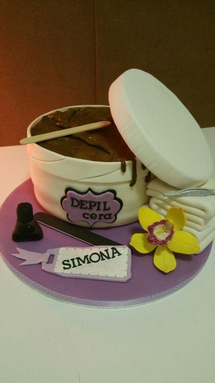 beautician cake torta estetista