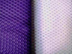 9 inch Plain Netting - Purple