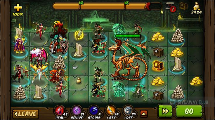 """Join the action in this highly addictive multiplayer card strategy RPG """"FORGE OF GODS""""! Free only 10 - 12 of September!"""