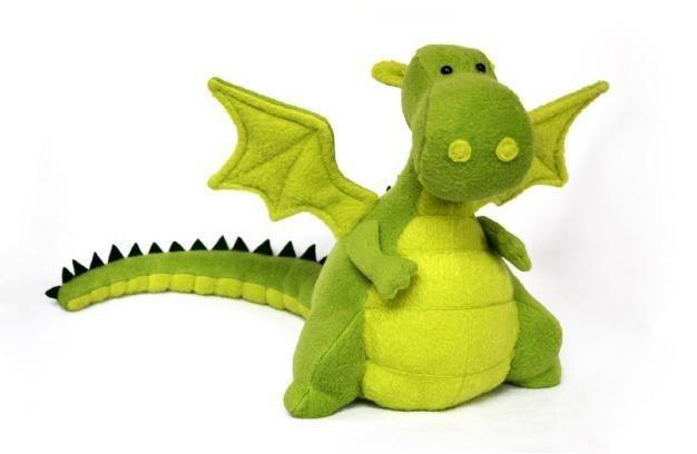 DIY // Free Pattern - Dragon