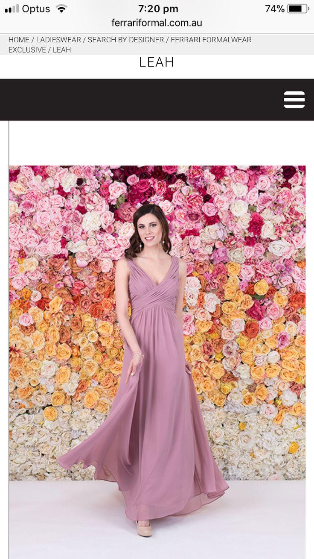 Increíble Kelsey Se Elevó Vestidos De Las Damas Motivo - Colección ...