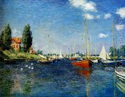 Claude Monet - Argenteuil (Red Boats)