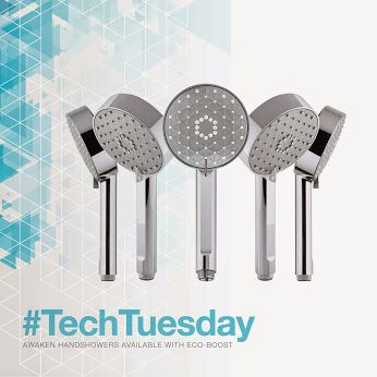 Learn more about the Eco-Boost technology behind our Awaken handshower! --> http://khlr.co/zqmt