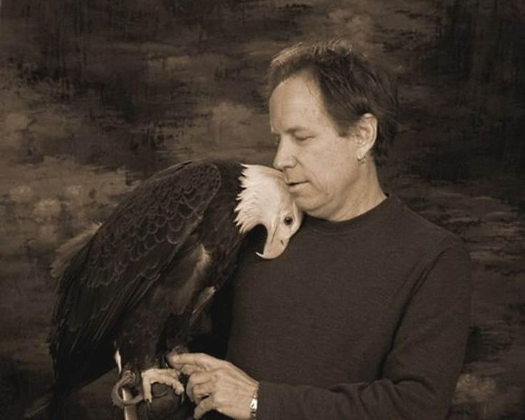 An Eagle Named Freedom ~ Freedom and Jeff have been together 13 years. When…