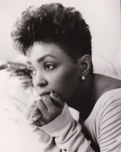 """Anita Baker. My childhood treasure. In my book, this woman can do no wrong. Her voice penetrates through all of my layers, and speaks to my soul. """"Rapture"""" was one of the best albums ever made. Point. Blank. Period."""