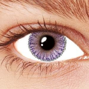 Dream Eyes Contact Lenses are high quality fashion contact lenses. They are soft and breathable, with a high water content that makes them very comfortable to wear. These  violet & purple color contact lenses  keep your eyes feeling hydrated and comfortable all day long. They are easy to use and clean, working in complete harmony with your eyes.