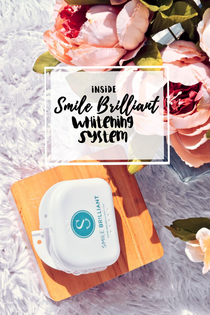 Teeth Whitening At Home   We share our experience using the Smile Brilliant Whitening System, along with a fun #giveway too at http://www.modernchicmag.com/inside-the-smile-brilliant-whitening-system-review/    #athome #whiteningkit #teeth #smilebrilliant #review #bblogger #beauty #lifestyle #smile