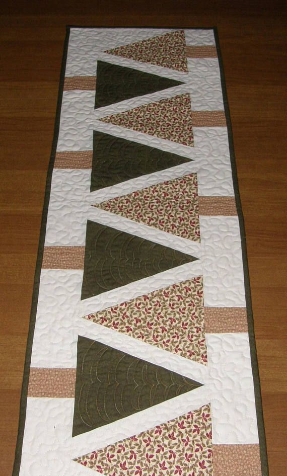 25 unique quilted table runners ideas on pinterest for Table runner ideas