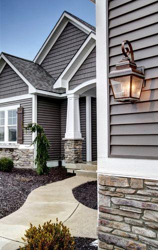 color scheme & textures, exterior