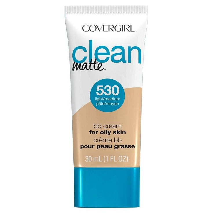 Covergirl Clean Matte BB Cream 530 Light/Medium 1Fl Oz, Buff Beige