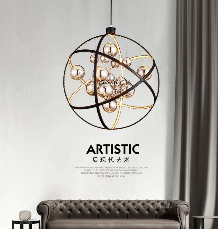 Постмодернистские минималистской моды LED люстра Ресторан Кафе Бар Бар личности творческие искусства стеклянные лампы -tmall.com Lynx
