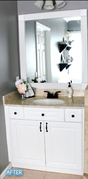 spray paint bathroom cabinets 17 best before and after images on bathroom 20620