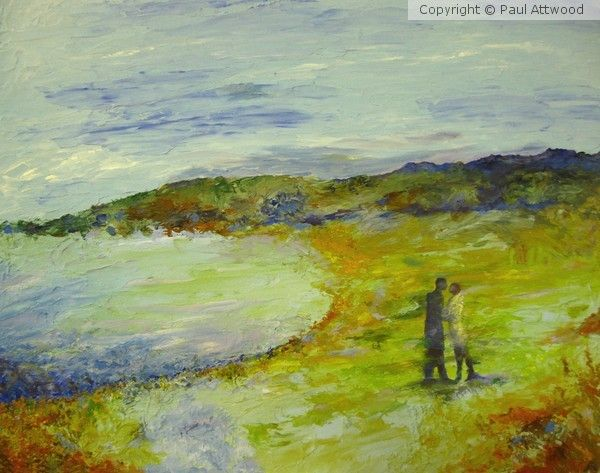Gullane Beach, East Lothian by Paul Attwood on ARTwanted