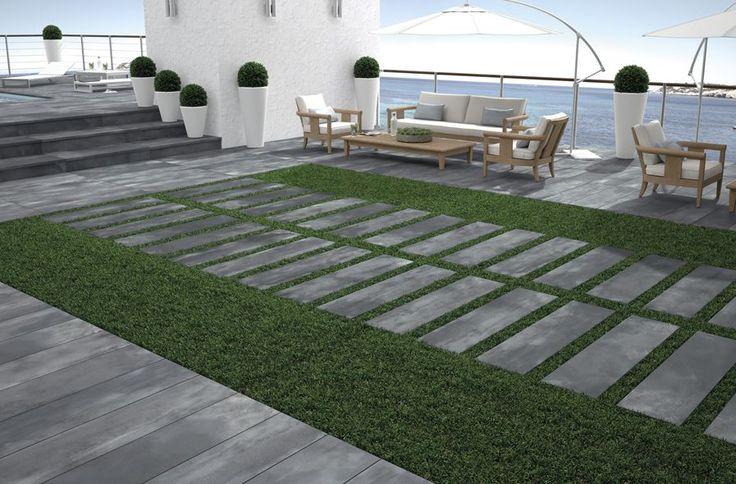 7 best dalles 20mm aspect b ton anthracite images on pinterest. Black Bedroom Furniture Sets. Home Design Ideas