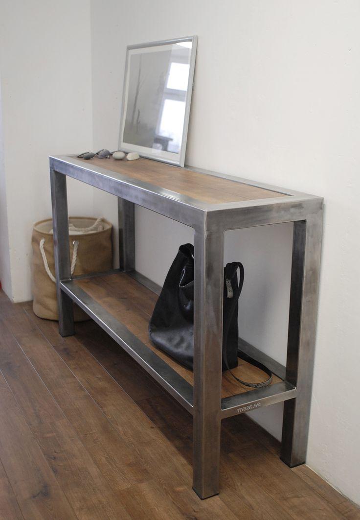Loft console. Консоль в стиле лофт. Мебель в стиле минимализм.