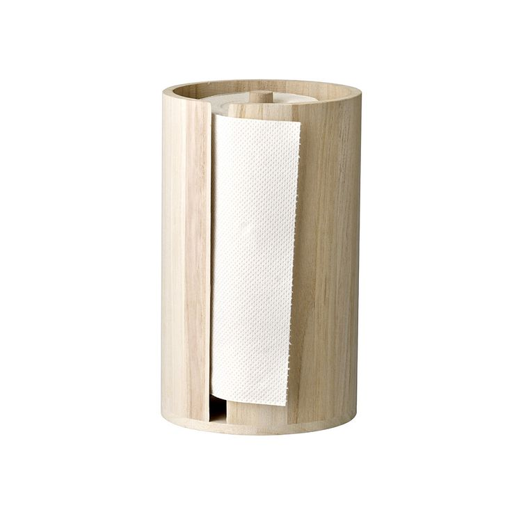 Buy Bloomingville Wooden Kitchen Paper Stand   Amara