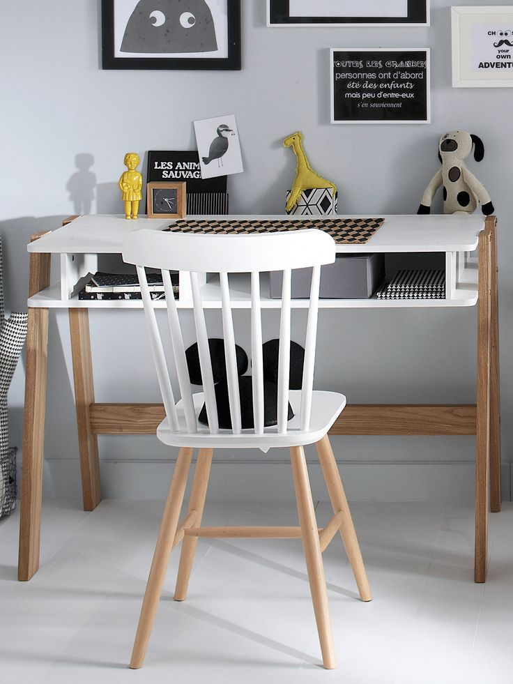 1000 Ideas About Chaise De Bureau Enfant On Pinterest Bureau Enfants Office Chairs And White