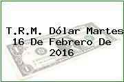 http://tecnoautos.com/wp-content/uploads/imagenes/trm-dolar/thumbs/trm-dolar-20160216.jpg TRM Dólar Colombia, Martes 16 de Febrero de 2016 - http://tecnoautos.com/actualidad/finanzas/trm-dolar-hoy/tcrm-colombia-martes-16-de-febrero-de-2016/