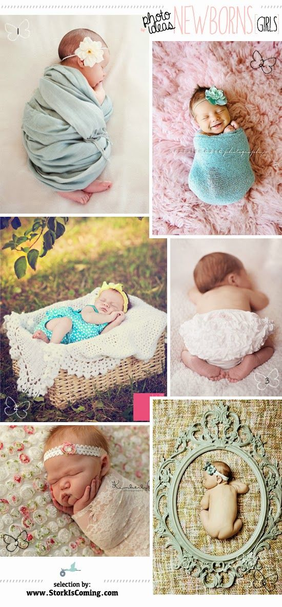 baby girl picture pose ideas http://www.storkiscoming.com