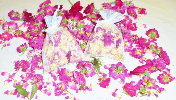 Sachet Rose Rose Potpourri Sachet Lingerie by FourDirectionsLight