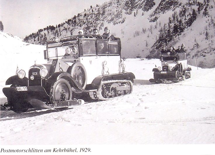 1929 beim heutigen Kirchbühellift in Obertauern.