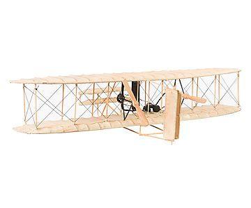Adorno Avião Bi Plano 1903 - 80cm