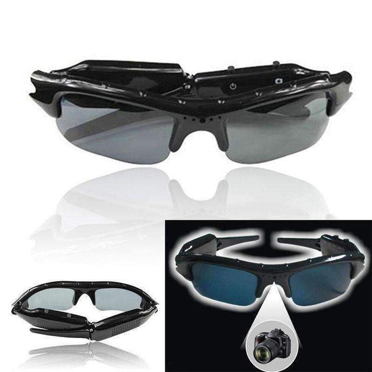 HD Sunglasses Digital Camera DVR Video Recorder  #treatyourself #gadgets #future #amazingpeople #tech #coolstuff #geek
