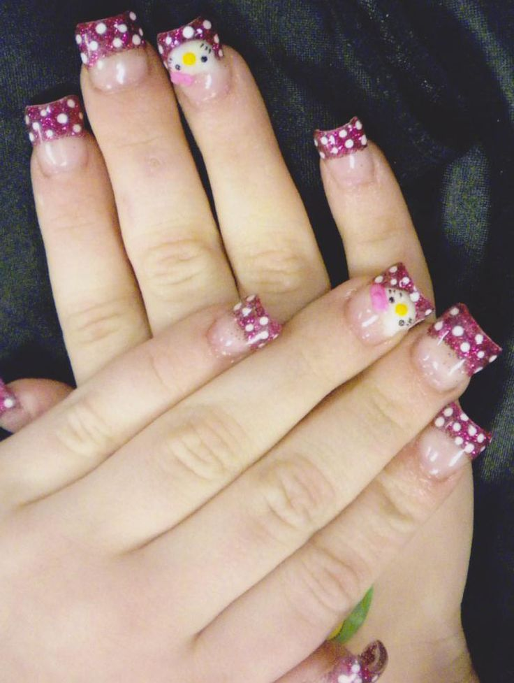 The 25 best nail salon las vegas ideas on pinterest modern nail hello kitty nails prinsesfo Image collections