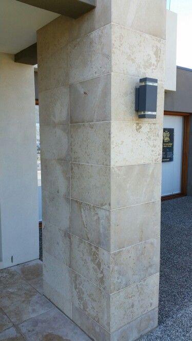 Carlisle Sanctuary feature tiled pillar