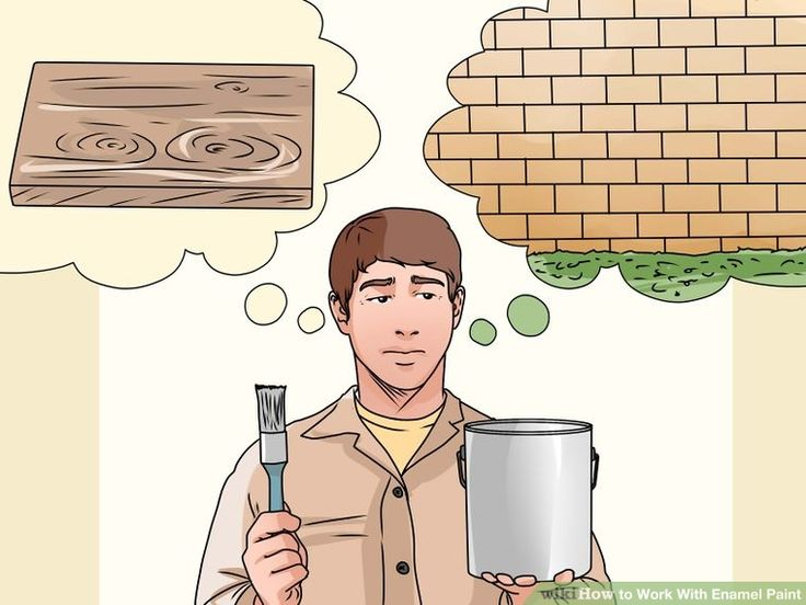 'How to Work With Enamel Paint...!' (via wikiHow)