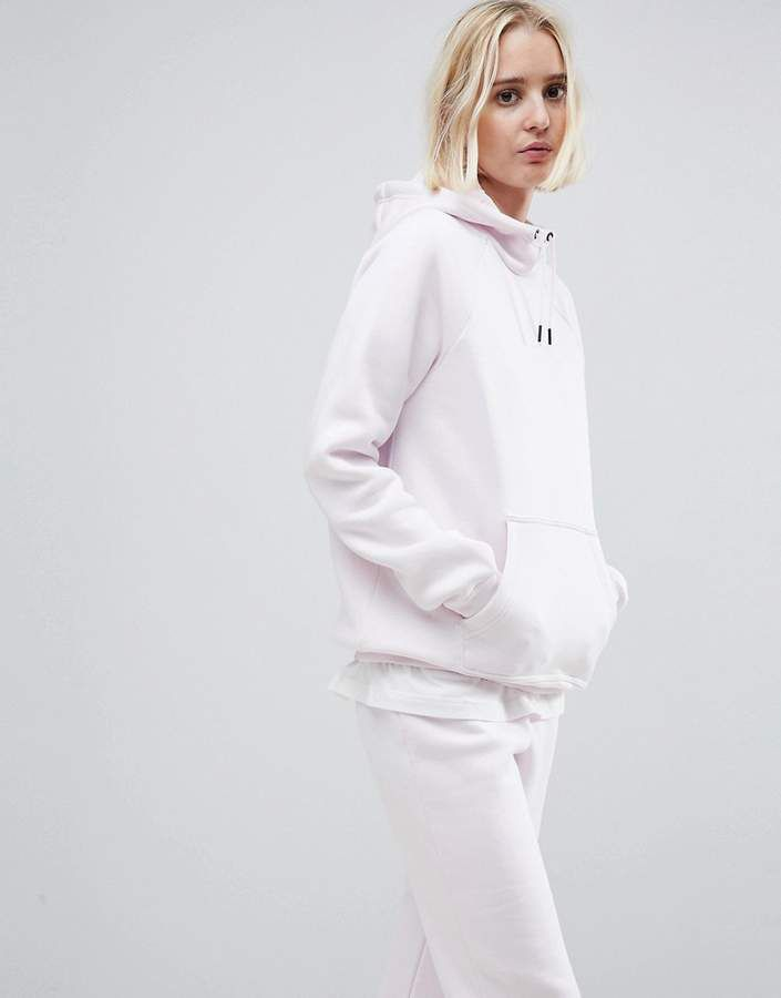 Nike Rally Pullover Hoodie In Pink