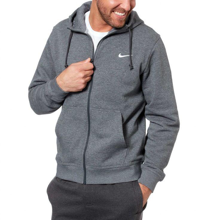 Sweat 'Nike' zippé à capuche                                                                                                                 bleu Homme